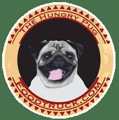 Hungry Pug logo Hungry Pug food truck williamsburg virginia