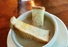 peanut soup recipe king's arm tavern williamsburg virginia