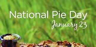 national pie day January williamsburg virginia