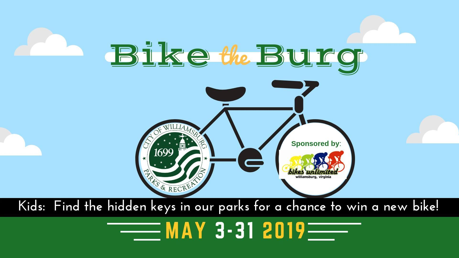 Bike the Burg @ Quarterpath Recreation Center