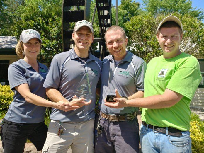 anvil campground owners and employees hold recent awards