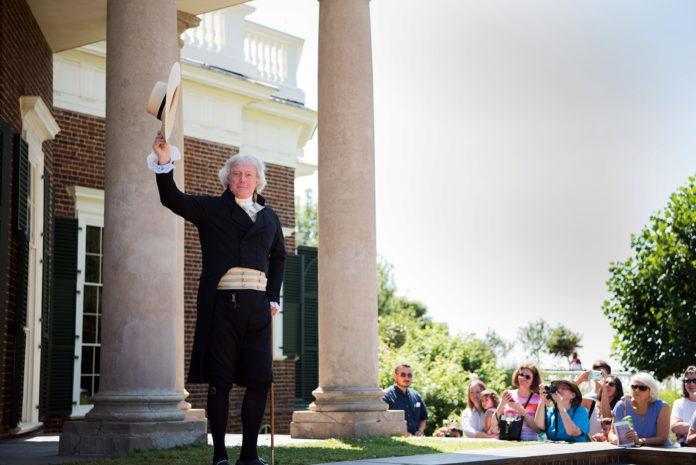Bill Barker as Thomas Jefferson