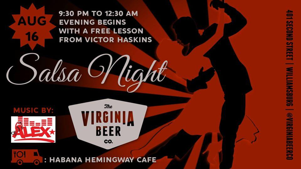 Salsa Night @ Virginia Beer Company