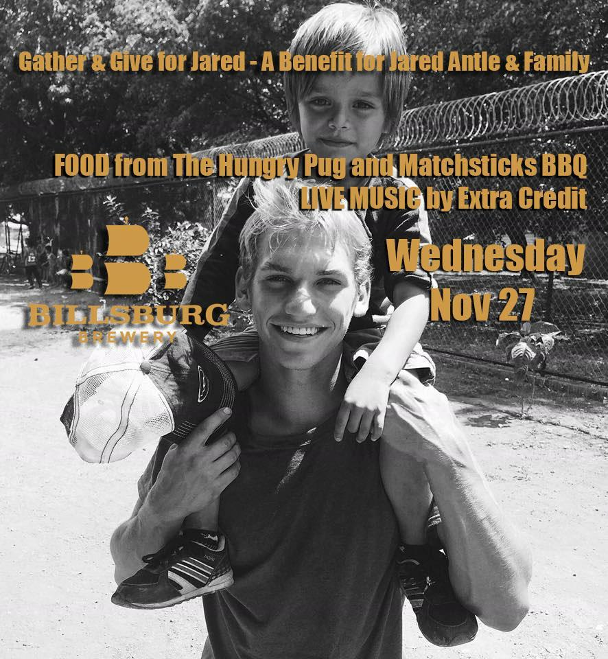 Benefit for Jared Antle Family @ Billsburg Brewery @ Billsburg Brewery