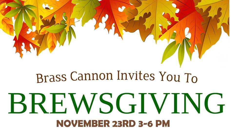 Brewsgiving @ Brass Cannon Brewing