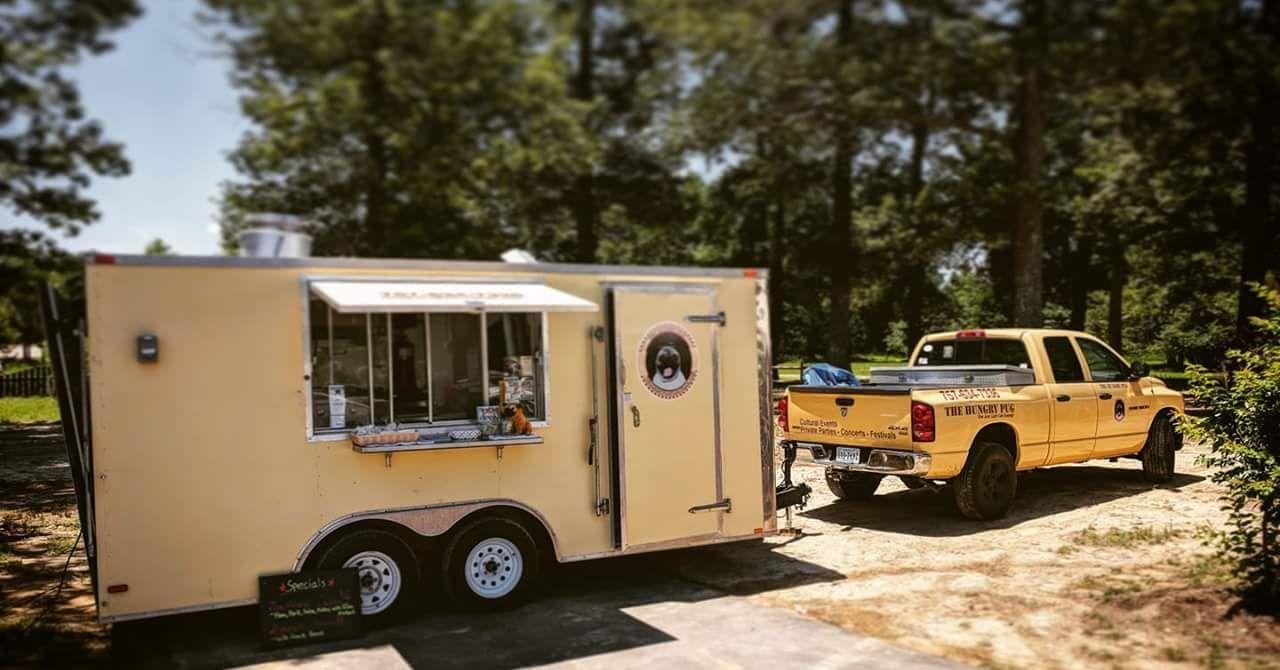 Hungry Pug Food Truck @ Billsburg Brewery
