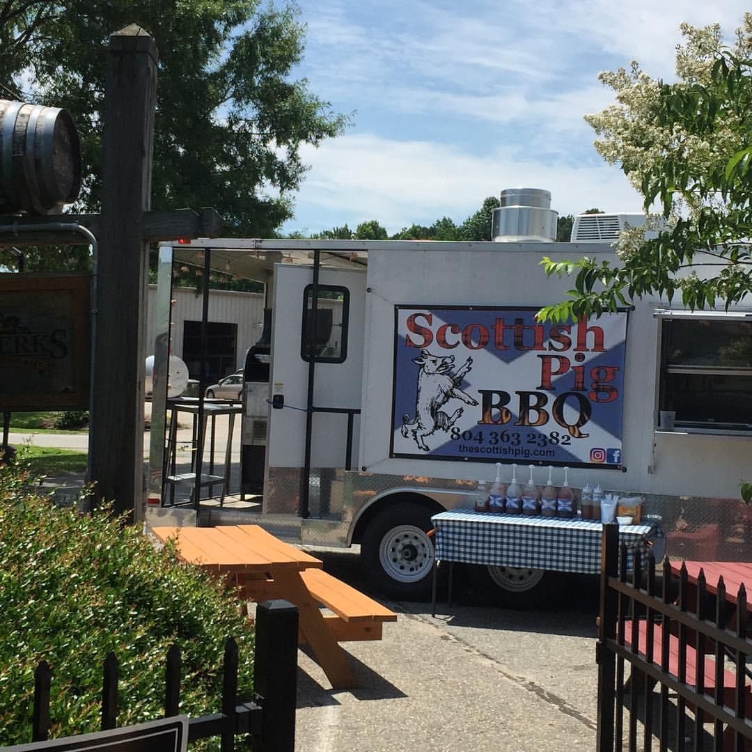 Scottish Pig Food Truck Williamsburg Virginia