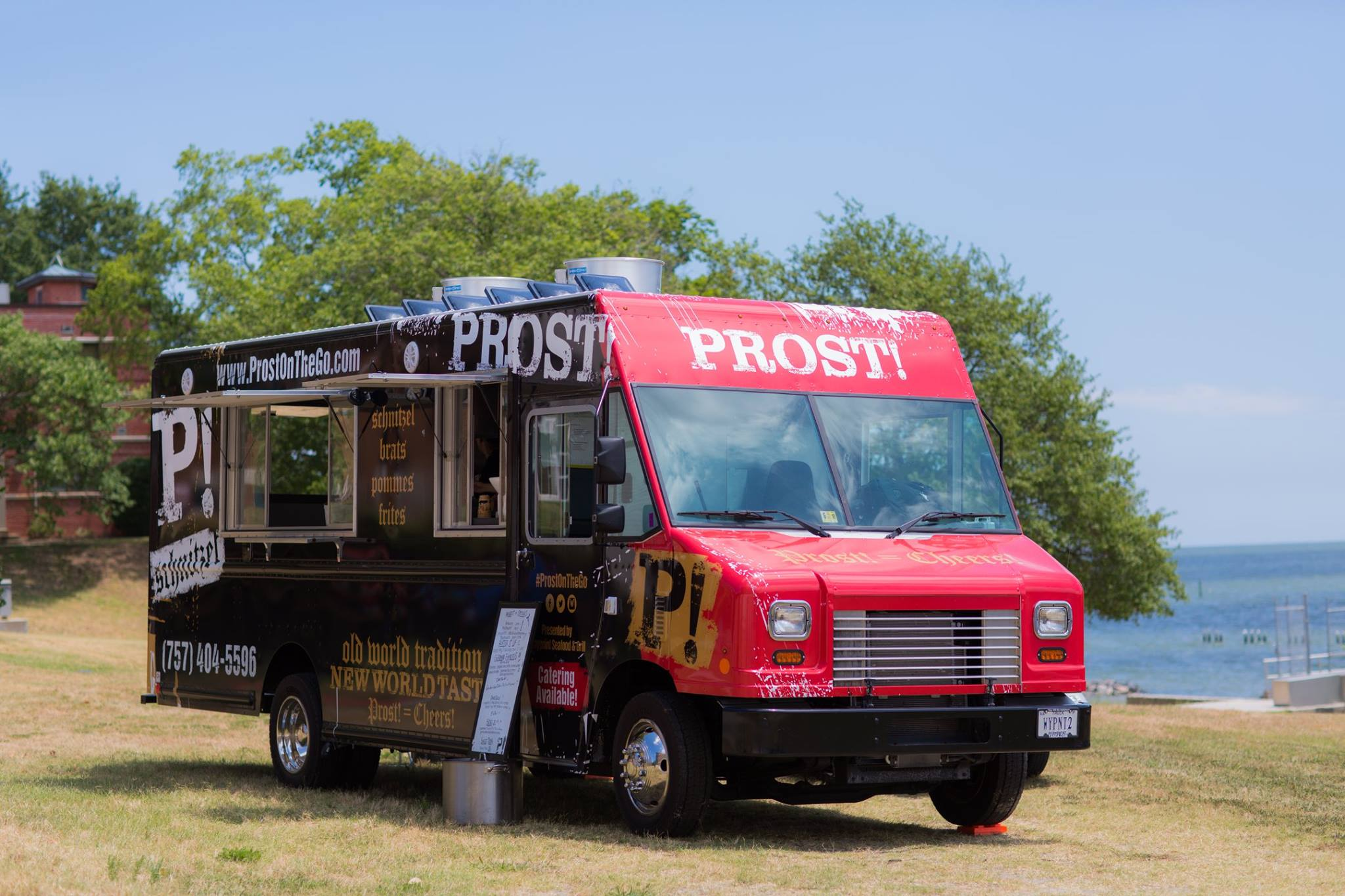 PROST! food truck from Waypoint Grill williamsburg virginia