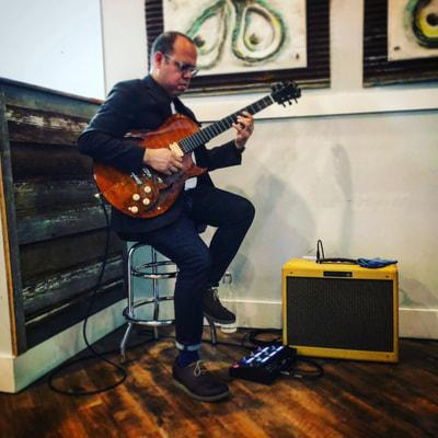 Tony Mata jazz guitar local live music finder williamsburg virginia