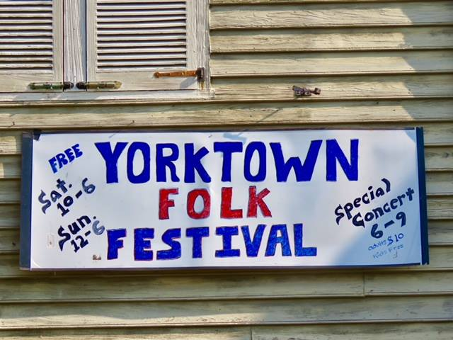 Yorktown Folk Music Festival @ Yorktown Folk Music Festival