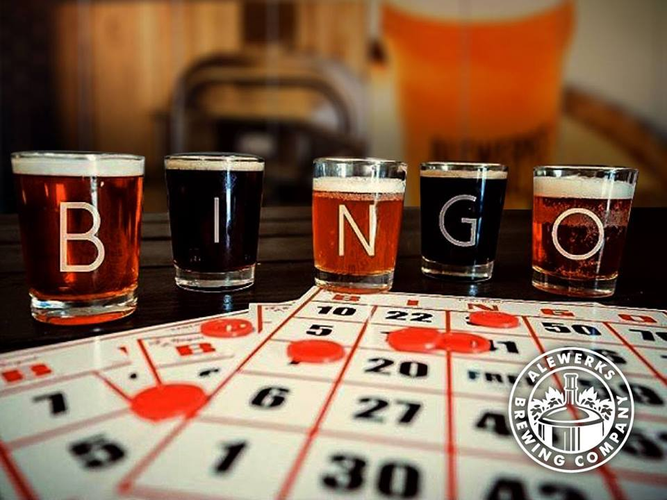 BINGO Night at the Alewerks LAB! @ Alewerks Brewing Company