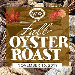 Williamsburg Winery 2ND ANNUAL FALL OYSTER ROAST @ Williamsburg Winery