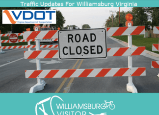 williamsburg virginia traffic updates