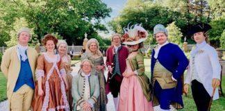 Colonial Williamsburg's Colonial Fashion Week Chowning's Tavern discount Colonial Costume Party Williamsburg Virginia