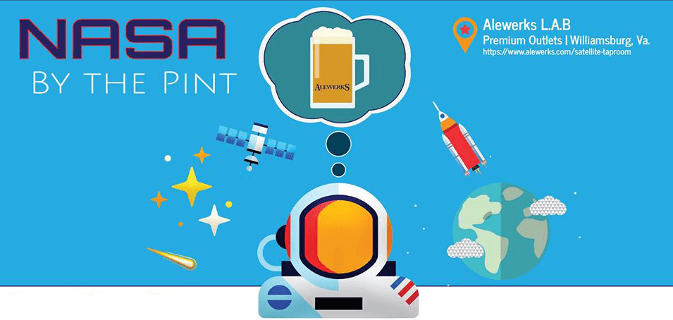 williamsburg virginia things to do NASA by the pint alewerks