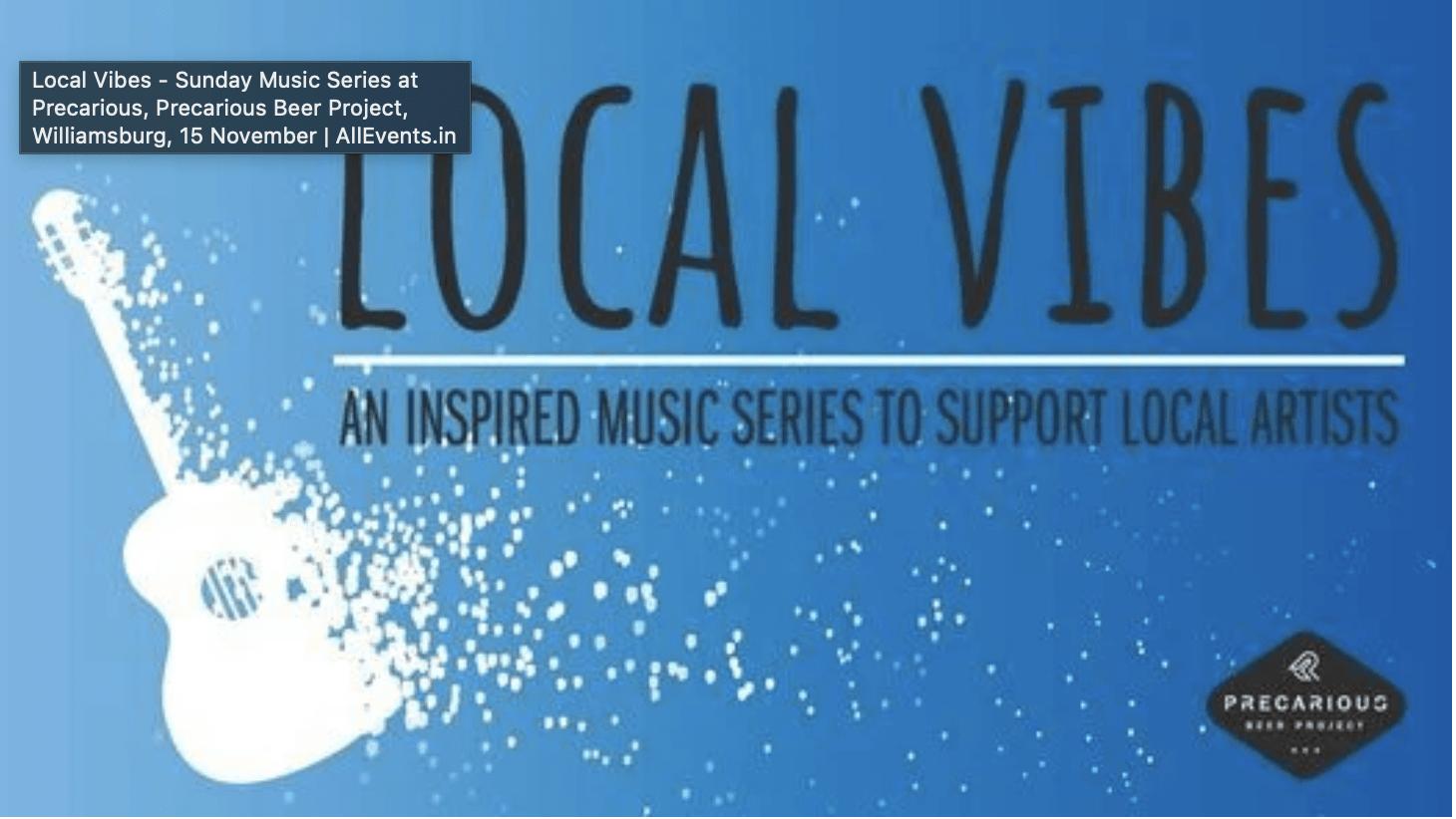Williamsburg Virginia Live Music Local Music Finder Local Vibes Precarious Beer