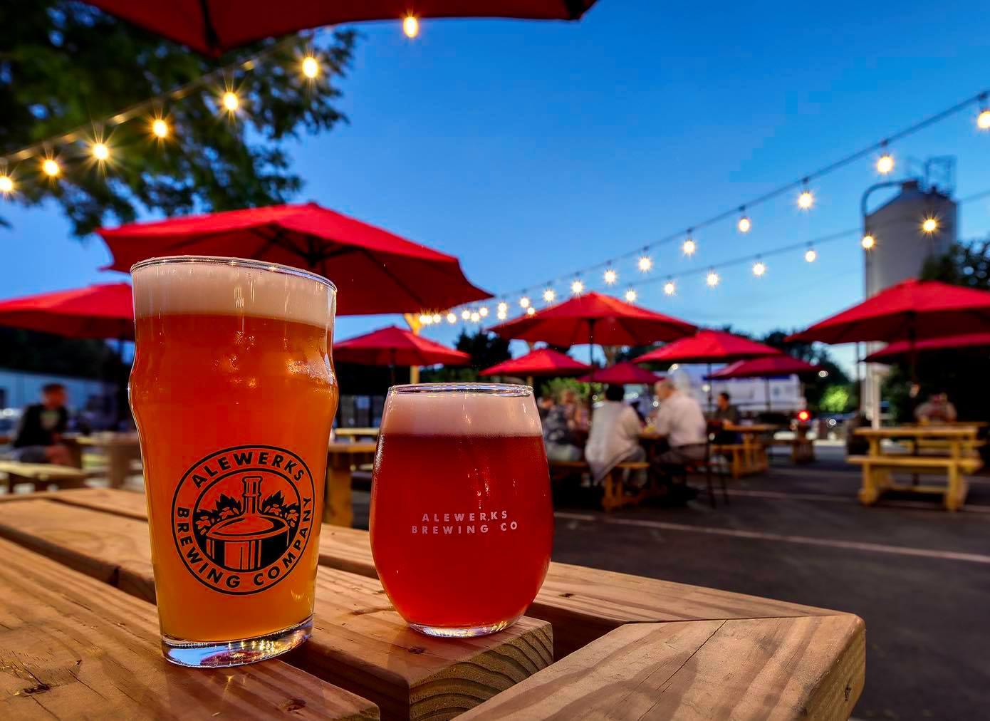 williamsburg virginia live music finder alewerks outdoor beer garden