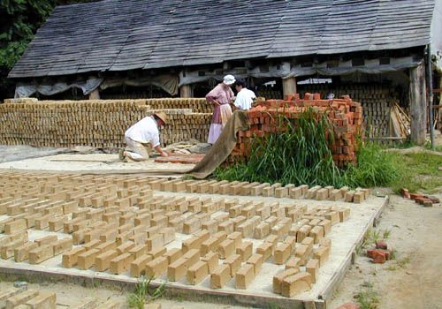 williamsburg virginia things to do brickmaking brickyard1