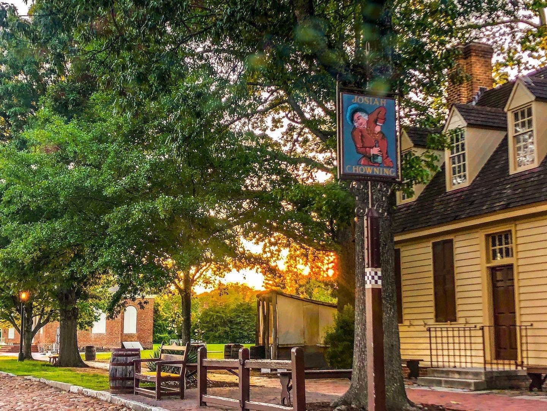 Williamsburg Virginia Colonial Williamsburg Restaurants Chowning Tavern0