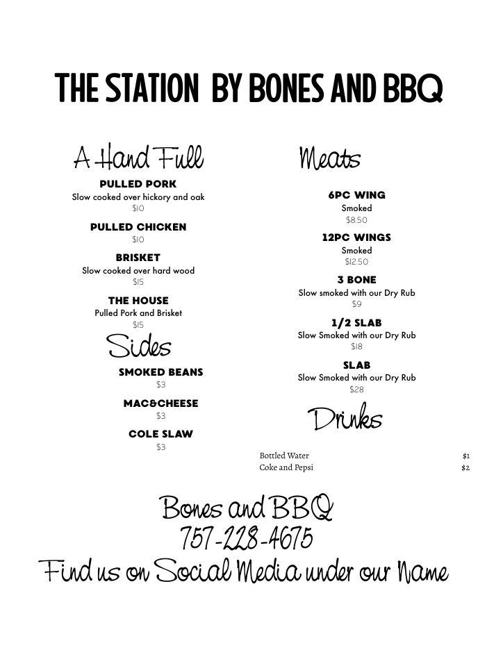 Williamsburg Virginia Food Truck Finder Bones and BBQ1