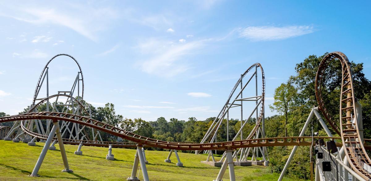 williamsburg virginia things to do busch gardens pantheon roller coaster